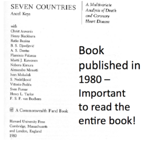 Seven Countries Title Page