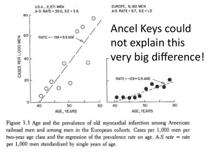 Ancel Keys Cant Explain clearer