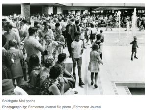Mall in 1970